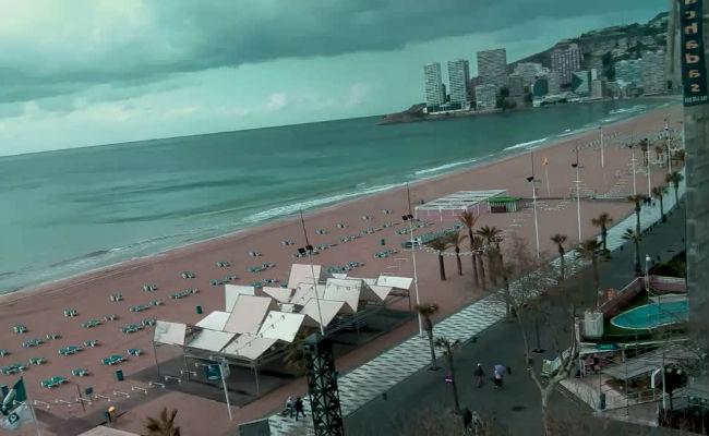 webcams de Benidorm 24 horas